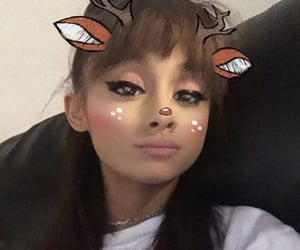 bangs and ariana grande image