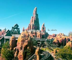 attraction, disneyland, and merry-go-round image