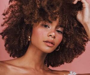 beauty, black women, and blush image