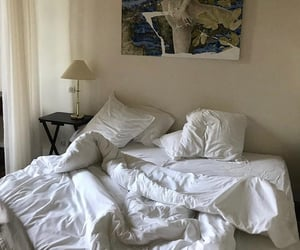bed, clean, and home image