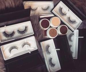 makeup, lashes, and make up image