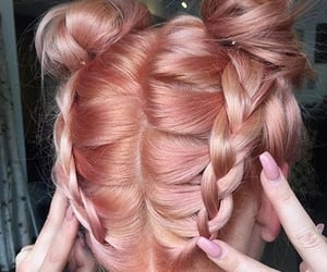 fashion, hairstyle, and rose image