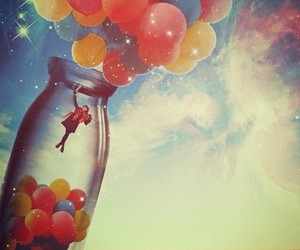 balloons, flow, and Dream image