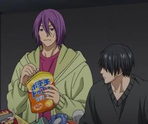 kuroko no basket, himuro tatsuya, and murasakibara atsushi image