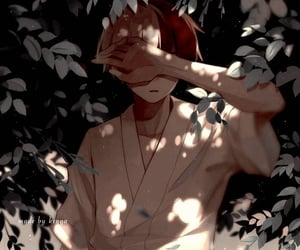 anime, boy, and theme image