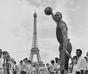 1985, michael jordan, and paris image