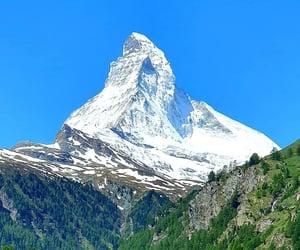 matterhorn, mount, and switzerland image
