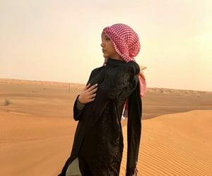 aesthetic, hijab, and muslim girl image