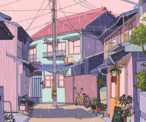 aesthetic, asia, and Houses image