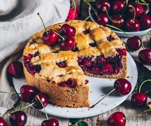 cherry, delicious, and food image