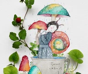 flower, flowers, and illustration image