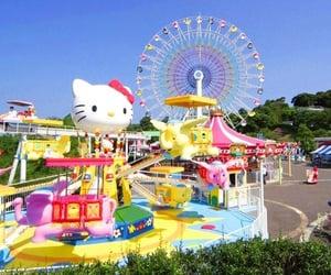 kawaii and theme park image