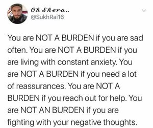anxiety, calm, and burden image