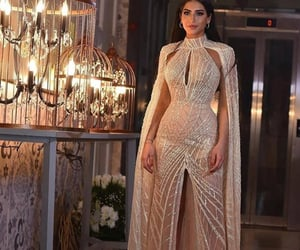 dress, Couture, and fashion image