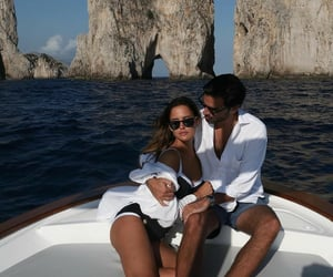 capri, couple, and holiday image