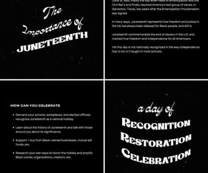history, knowledge is power, and juneteenth image
