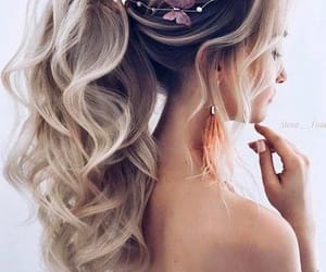 beautiful, hair, and long hair image
