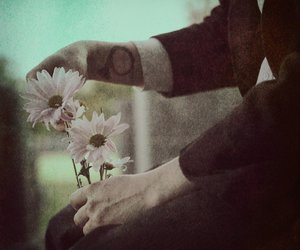 flowers, love, and tattoo image