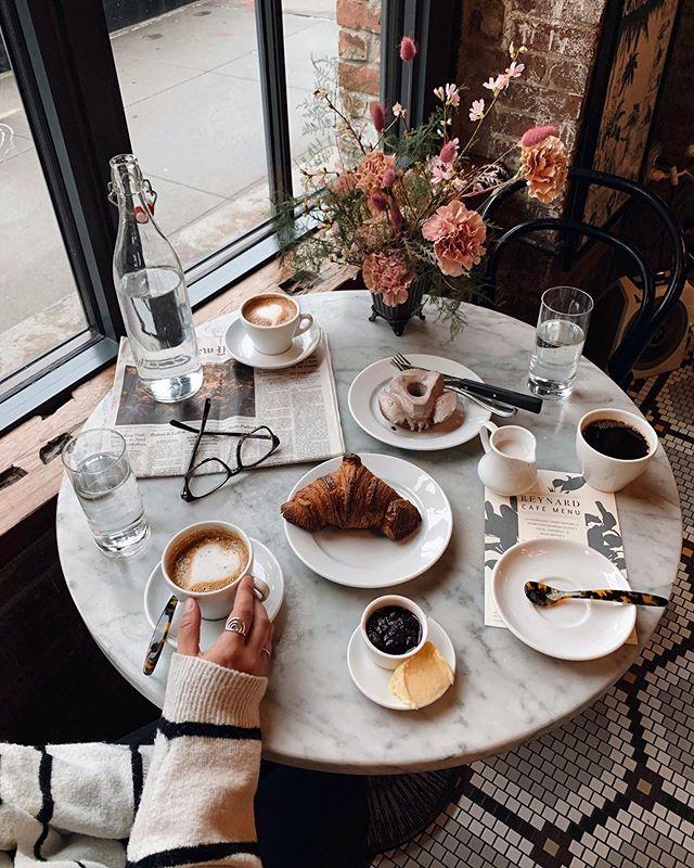 coffee, dessert, and enjoy image