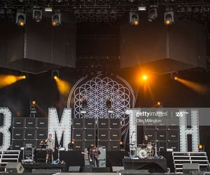 black, bmth, and concert image