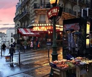 aesthetics, france, and metro image