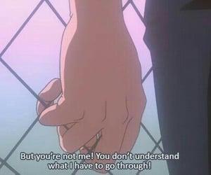 anime, gif, and sad image