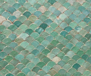 mint green and tiles image