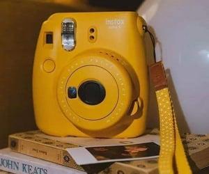 yellow, aesthetic, and polaroid image