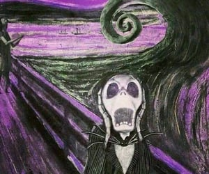 art, jack, and the nightmare before christmas image
