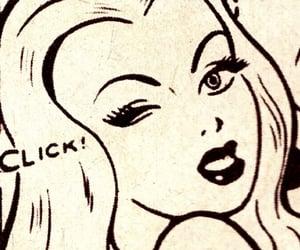 comic, girl, and Pin Up image