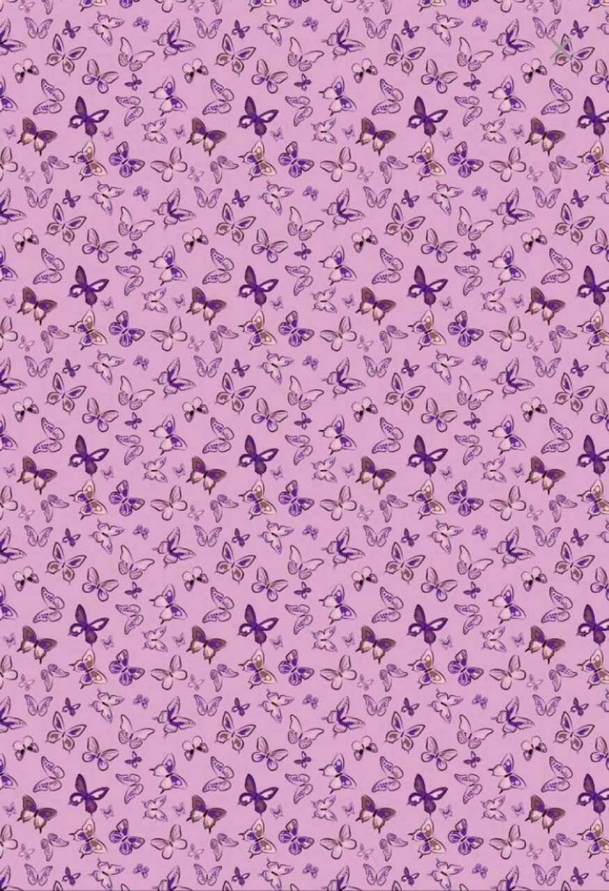 background, butterflies, and purple image