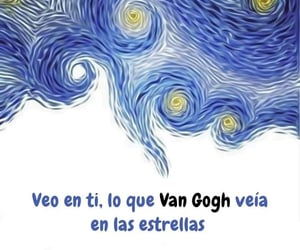 amor, frases, and van gogh image