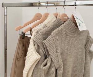 beige, fashion, and brown image