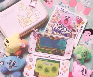 aesthetic, kirby, and nintendo switch image