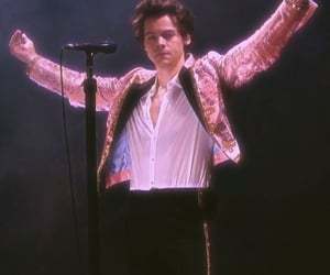 Harry Styles, pink, and styles image