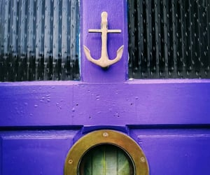 anchor, doors, and nautical image