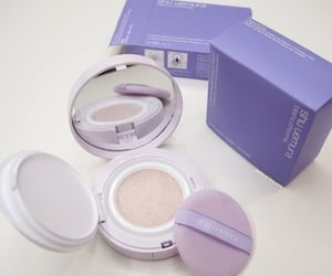 purple, aesthetic, and makeup image