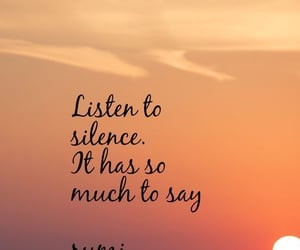 life, silence, and quotes image