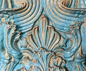 antiques, blue, and carving image