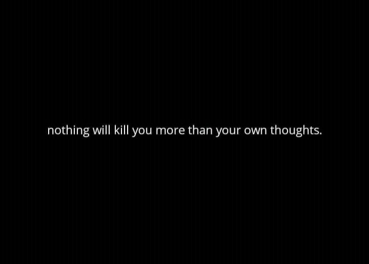 kill, thoughts, and overthinking image
