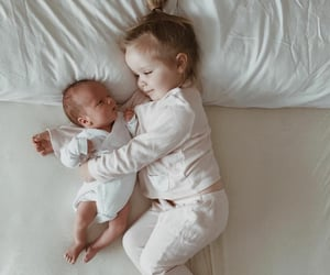 baby, brother, and little image