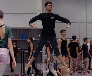 ballerina, ballett, and dance image
