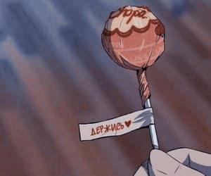 anime, aesthetic, and lollipop image