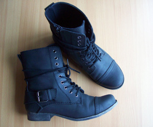 boots, combat boots, and outfit image
