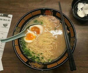 japanese food, noodles, and ramen image