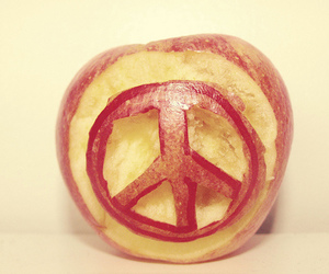 apple and peace image