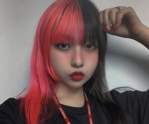 asian, fc, and goth image