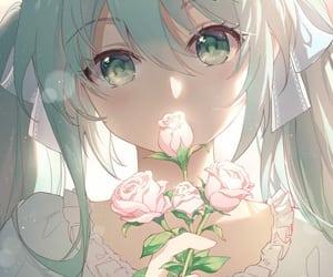 anime, hatsune miku, and cute image