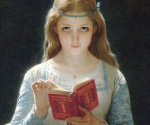 19th century, blonde, and oil image