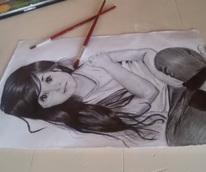 draw and girls image